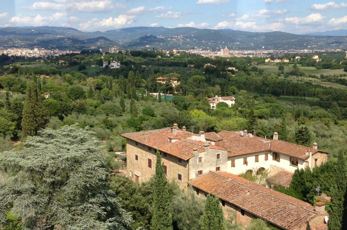 Florencia, en colina