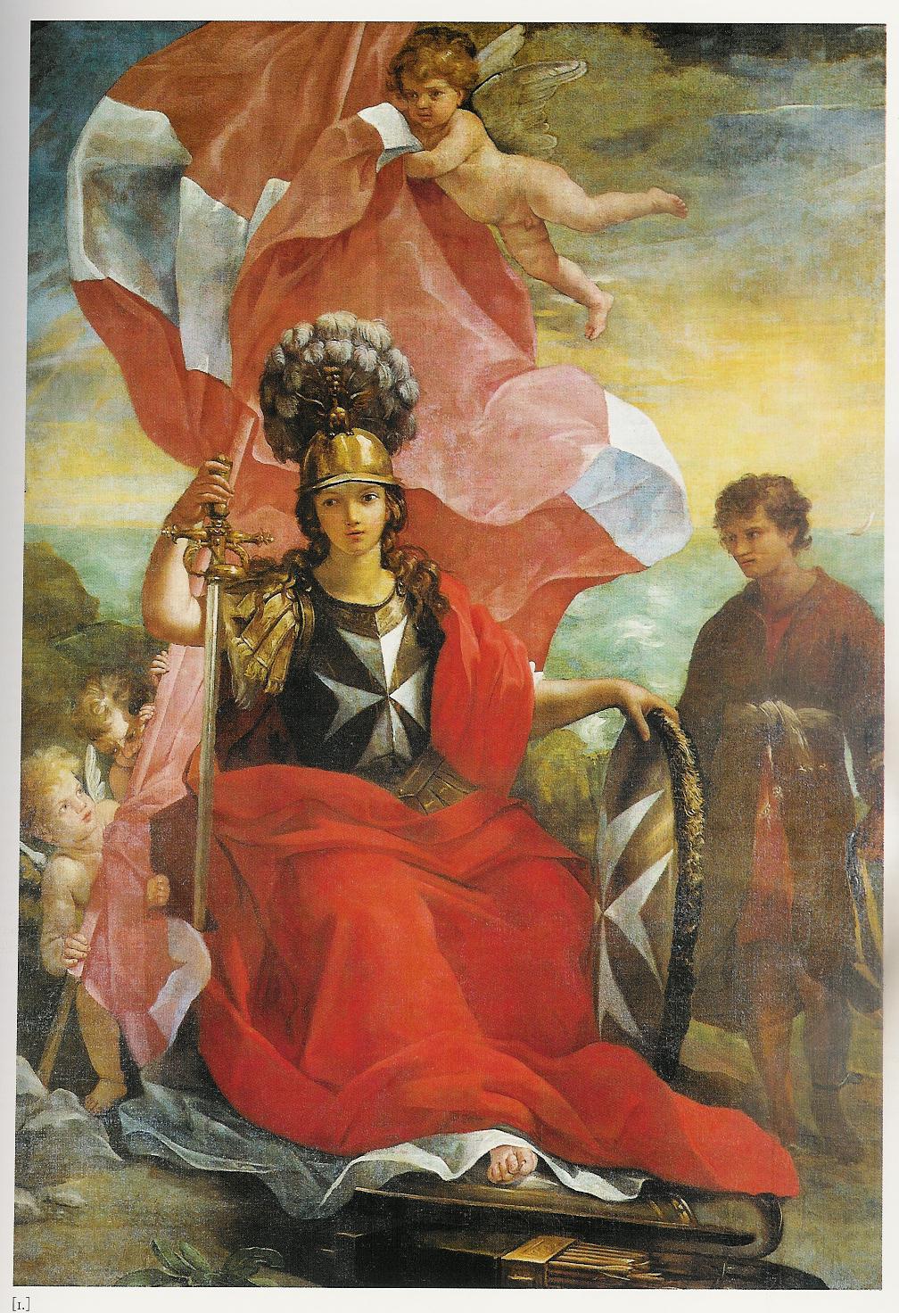 Ordine di Malta allegoria