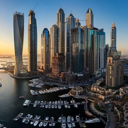 Dubai by Sergio Alberti
