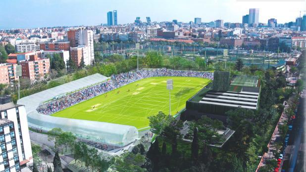 Obras Vallehermoso estadio atletismo