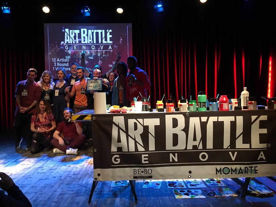 Art Battle concorso aGE